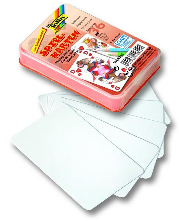 Hracie karty - 6,5x10 cm, 36 ks
