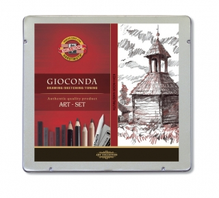 Kresliarska súprava GIOCONDA ART SET, 24 ks